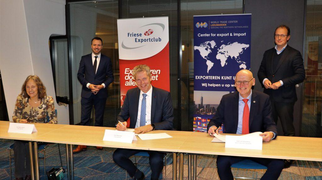 Samenwerking WTC Leeuwarden en Friese Exportclub