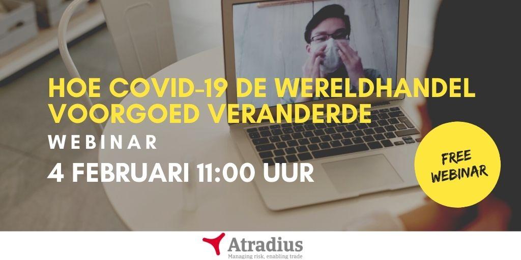 Hoe covid de wereld veranderde - webinar - Atradius