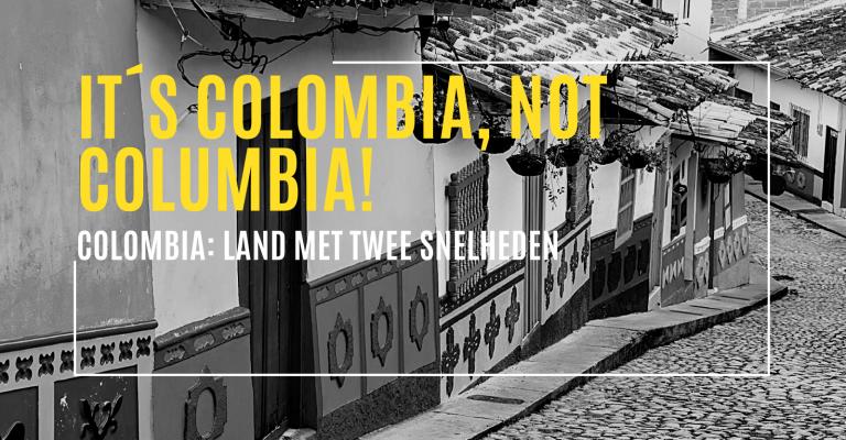Colombia het land met twee snelheden